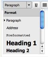 text-format-dropdown