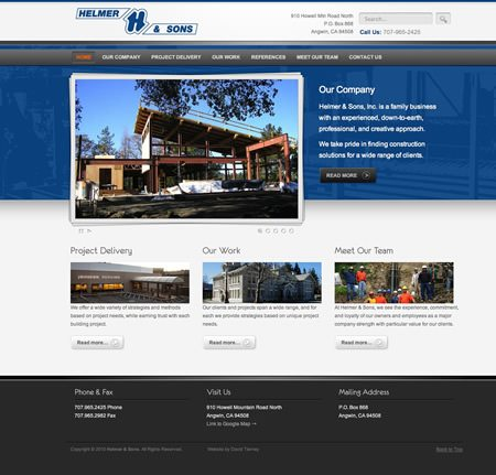 Angwin Business Website Design