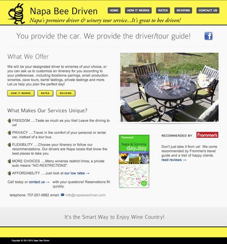 Napa Business Web Design