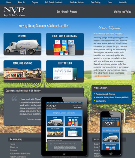 Napa Business Web Design