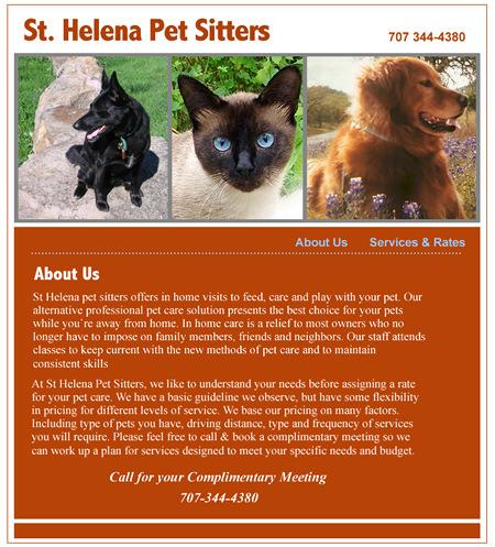 St Helena Business Web Design