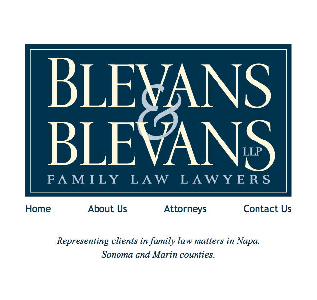 Blevans and Blevans Website Design