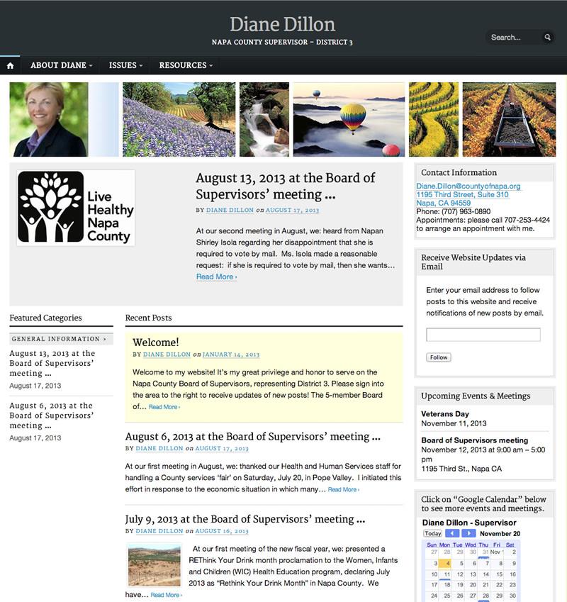 Diane Dillon Website
