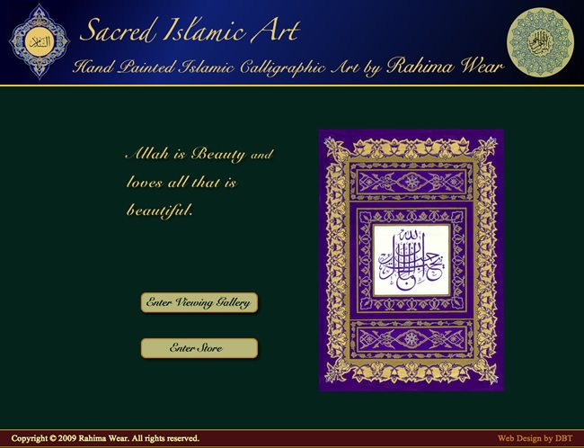 Muslim Website Designed