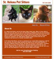 Saint Helena Pet Sitters