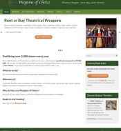 Weapons of Choice Theatrical