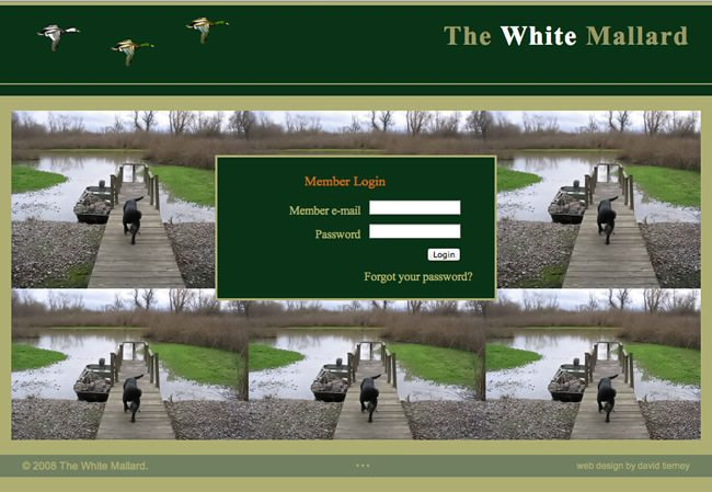White Mallard Website