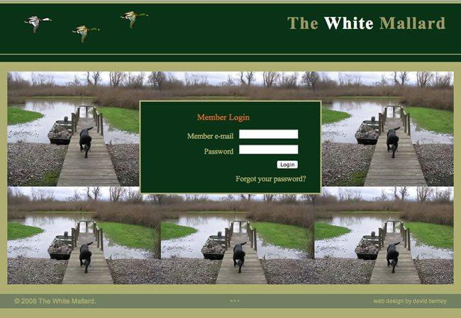 White Mallard Website