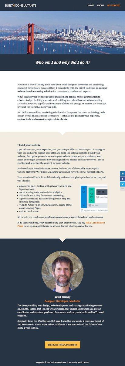 Consultant Web Design & Marketing