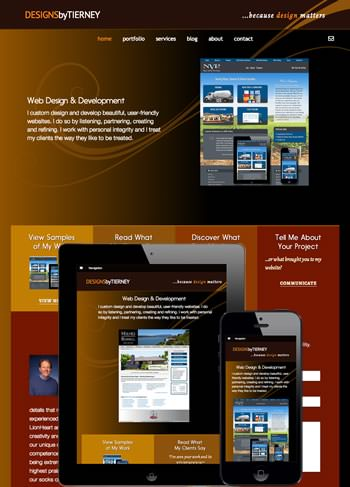 Napa website design