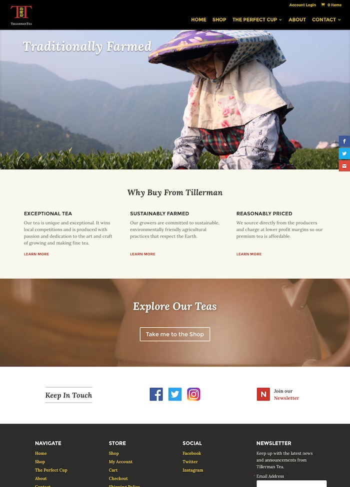 Napa web design