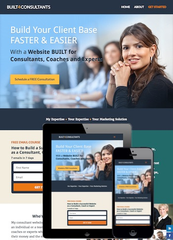 Websites for service professionals napa web designer for Web design consultant