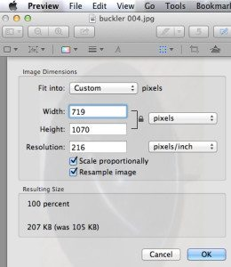 How to Resize an Image on a Mac