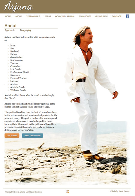Napa Healer Website Design