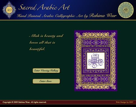 Napa Artist Website Design