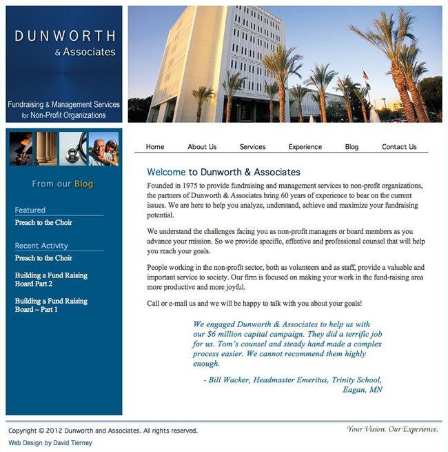 Dunworth & Associates Website Design