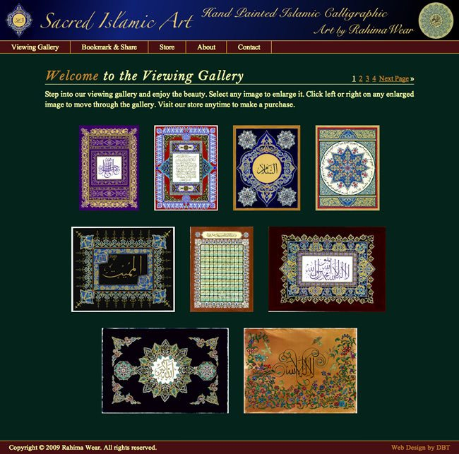Muslim Website Designed