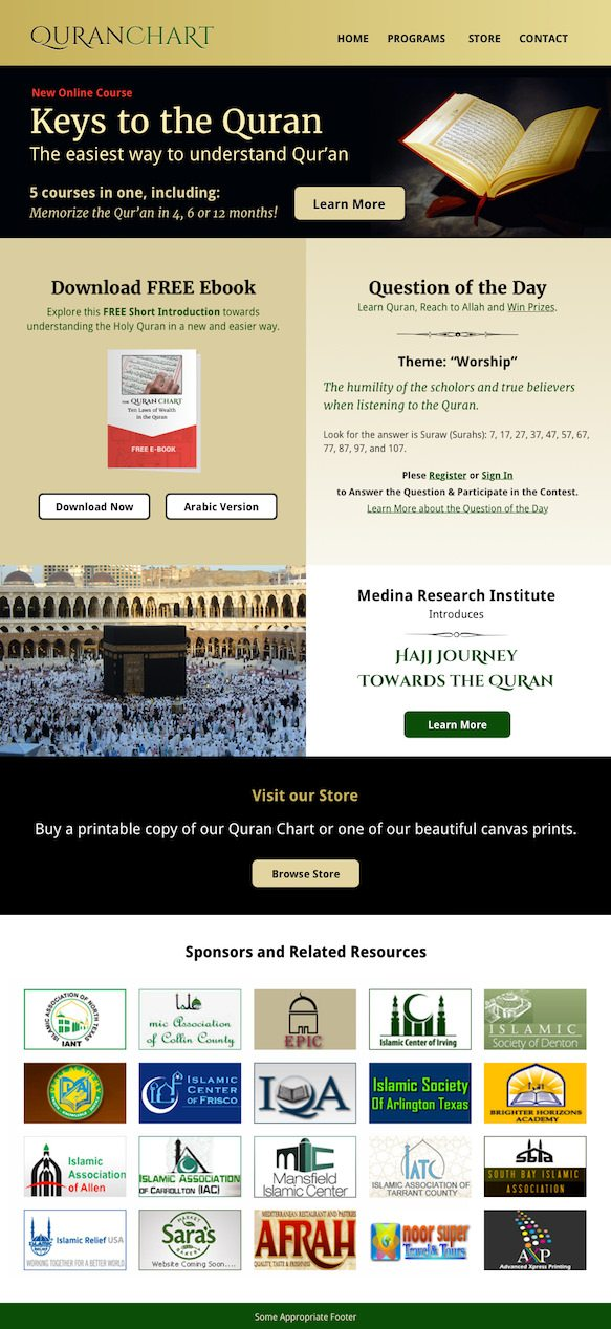 Muslim Web Design