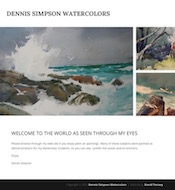 Dennis Simpson Watercolors