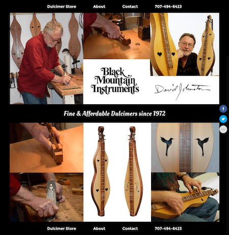 Custom Dulcimer Sales